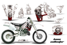 Load image into Gallery viewer, Dirt Bike Graphics Kit MX Decal Wrap For Honda CR500 CR 500 1989-2001 BONES WHITE-atv motorcycle utv parts accessories gear helmets jackets gloves pantsAll Terrain Depot