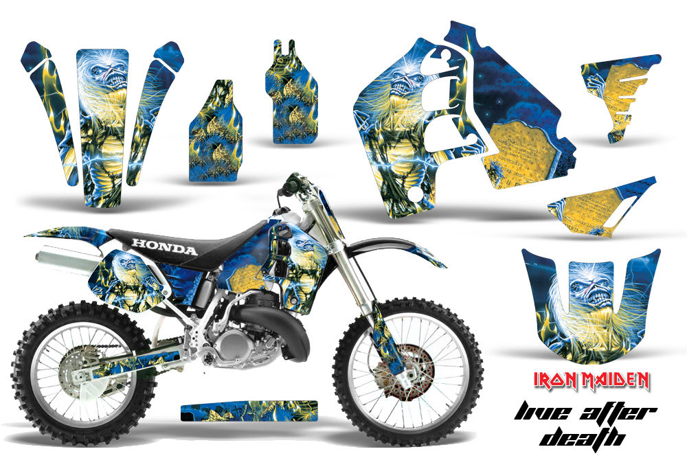 Dirt Bike Graphics Kit MX Decal Wrap For Honda CR500 CR 500 1989-2001 IM LAD-atv motorcycle utv parts accessories gear helmets jackets gloves pantsAll Terrain Depot