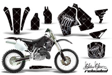 Load image into Gallery viewer, Dirt Bike Graphics Kit MX Decal Wrap For Honda CR500 CR 500 1989-2001 RELOADED CHROME BLACK-atv motorcycle utv parts accessories gear helmets jackets gloves pantsAll Terrain Depot