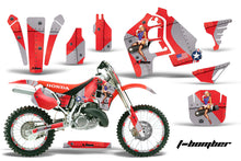 Load image into Gallery viewer, Graphics Kit MX Decal Wrap + # Plates For Honda CR500 CR 500 1989-2001 TBOMBER RED-atv motorcycle utv parts accessories gear helmets jackets gloves pantsAll Terrain Depot