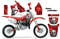 Dirt Bike Graphics Kit MX Decal Wrap For Honda CR80 CR 80 1996-2002 BONES RED
