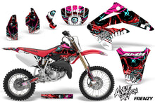 Load image into Gallery viewer, Dirt Bike Graphics Kit MX Decal Wrap For Honda CR85 CR 85 2003-2007 FRENZY RED-atv motorcycle utv parts accessories gear helmets jackets gloves pantsAll Terrain Depot