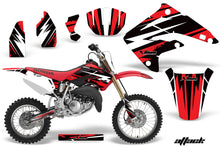 Load image into Gallery viewer, Dirt Bike Graphics Kit MX Decal Wrap For Honda CR85 CR 85 2003-2007 ATTACK RED-atv motorcycle utv parts accessories gear helmets jackets gloves pantsAll Terrain Depot