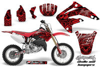 Dirt Bike Graphics Kit MX Decal Wrap For Honda CR85 CR 85 2003-2007 HISH RED