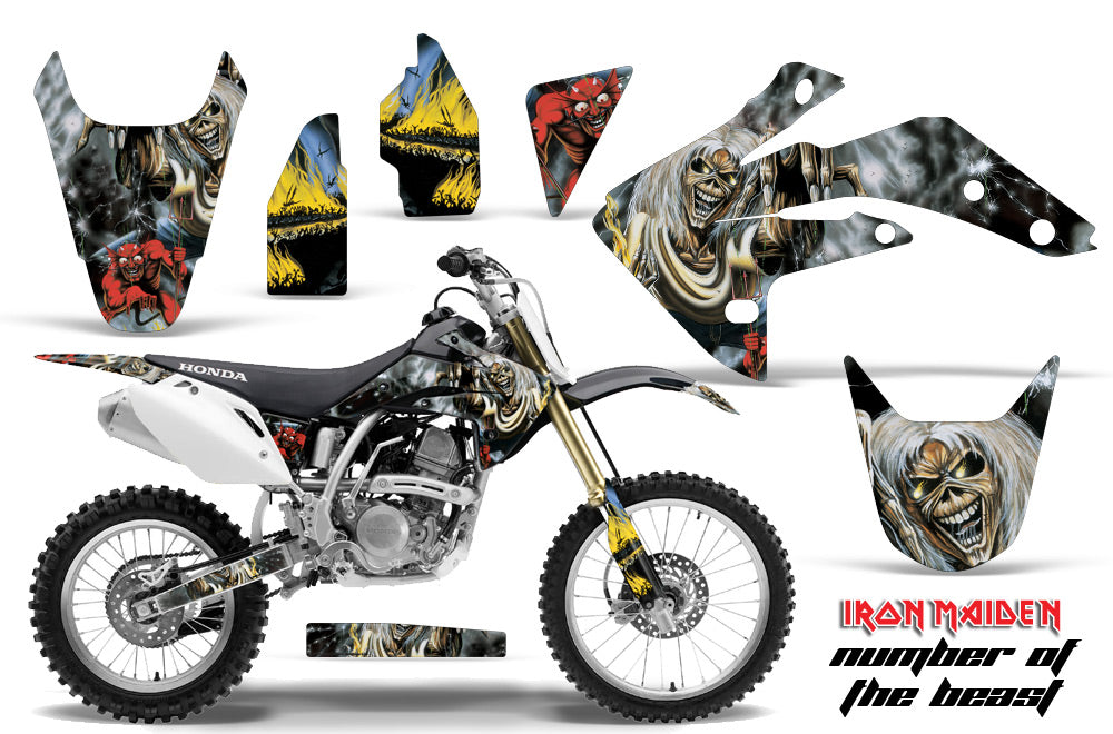 Dirt Bike Graphics Kit Decal Sticker Wrap For Honda CRF150R 2007-2016 IM NOTB-atv motorcycle utv parts accessories gear helmets jackets gloves pantsAll Terrain Depot