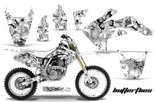 Load image into Gallery viewer, Graphics Kit Decal Sticker Wrap + # Plates For Honda CRF150R 2007-2016 BUTTERFLIES BLACK WHITE-atv motorcycle utv parts accessories gear helmets jackets gloves pantsAll Terrain Depot