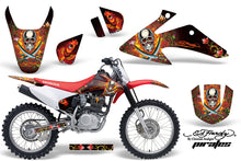 Load image into Gallery viewer, Dirt Bike Graphics Kit Decal Wrap For Honda CRF150 CRF230F 2008-2014 EDHP RED-atv motorcycle utv parts accessories gear helmets jackets gloves pantsAll Terrain Depot