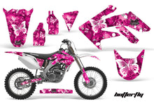 Load image into Gallery viewer, Dirt Bike Graphics Kit Decal Sticker Wrap For Honda CRF250R 2004-2009 BUTTERFLIES WHITE PINK-atv motorcycle utv parts accessories gear helmets jackets gloves pantsAll Terrain Depot