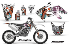 Load image into Gallery viewer, Dirt Bike Graphics Kit Decal Sticker Wrap For Honda CRF250R 2004-2009 TSUNAMI WHITE-atv motorcycle utv parts accessories gear helmets jackets gloves pantsAll Terrain Depot