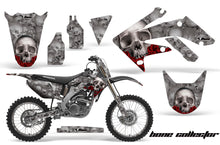 Load image into Gallery viewer, Graphics Kit Decal Sticker Wrap + # Plates For Honda CRF250R 2004-2009 BONES SILVER-atv motorcycle utv parts accessories gear helmets jackets gloves pantsAll Terrain Depot