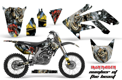 Graphics Kit Decal Sticker Wrap + # Plates For Honda CRF250R 2004-2009 IM NOTB