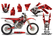Load image into Gallery viewer, Dirt Bike Decal Graphics Kit MX Sticker Wrap For Honda CRF250X 2004-2017 BONES RED-atv motorcycle utv parts accessories gear helmets jackets gloves pantsAll Terrain Depot