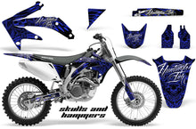 Load image into Gallery viewer, Dirt Bike Graphics Kit Decal Sticker Wrap For Honda CRF450R 2005-2008 HISH BLUE-atv motorcycle utv parts accessories gear helmets jackets gloves pantsAll Terrain Depot