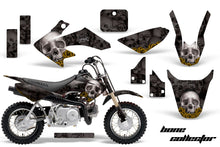 Load image into Gallery viewer, Dirt Bike Graphics Kit Decal Wrap For Honda CRF50 CRF 50 2004-2013 BONES YELLOW BLACK-atv motorcycle utv parts accessories gear helmets jackets gloves pantsAll Terrain Depot