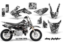 Load image into Gallery viewer, Dirt Bike Graphics Kit Decal Wrap For Honda CRF50 CRF 50 2014-2018 DOG FIGHT BLACK-atv motorcycle utv parts accessories gear helmets jackets gloves pantsAll Terrain Depot