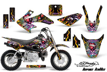 Load image into Gallery viewer, Dirt Bike Graphics Kit Decal Wrap For Honda CRF50 CRF 50 2004-2013 EDHLK BLACK-atv motorcycle utv parts accessories gear helmets jackets gloves pantsAll Terrain Depot