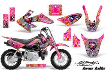 Load image into Gallery viewer, Dirt Bike Graphics Kit Decal Wrap For Honda CRF50 CRF 50 2004-2013 EDHLK PINK-atv motorcycle utv parts accessories gear helmets jackets gloves pantsAll Terrain Depot