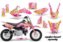 Load image into Gallery viewer, Dirt Bike Graphics Kit Decal Wrap For Honda CRF50 CRF 50 2014-2018 MOTO MANDY PINK-atv motorcycle utv parts accessories gear helmets jackets gloves pantsAll Terrain Depot
