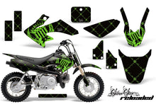 Load image into Gallery viewer, Dirt Bike Graphics Kit Decal Wrap For Honda CRF50 CRF 50 2004-2013 RELOADED GREEN BLACK-atv motorcycle utv parts accessories gear helmets jackets gloves pantsAll Terrain Depot