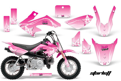 Dirt Bike Graphics Kit Decal Wrap For Honda CRF50 CRF 50 2004-2013 STARLETT PINK
