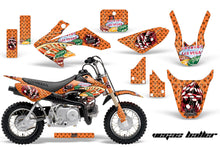 Load image into Gallery viewer, Dirt Bike Graphics Kit Decal Wrap For Honda CRF50 CRF 50 2004-2013 VEGAS ORANGE-atv motorcycle utv parts accessories gear helmets jackets gloves pantsAll Terrain Depot