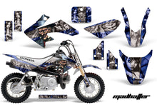 Load image into Gallery viewer, Dirt Bike Graphics Kit Decal Wrap For Honda CRF50 CRF 50 2014-2018 HATTER SILVER BLUE-atv motorcycle utv parts accessories gear helmets jackets gloves pantsAll Terrain Depot