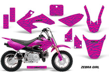 Load image into Gallery viewer, Dirt Bike Graphics Kit Decal Wrap For Honda CRF50 CRF 50 2004-2013 ZEBRA PINK PURPLE-atv motorcycle utv parts accessories gear helmets jackets gloves pantsAll Terrain Depot