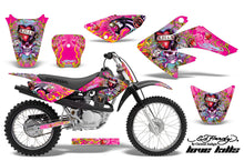 Load image into Gallery viewer, Dirt Bike Graphics Kit Decal Sticker Wrap For Honda CRF80 2004-2010 EDHLK PINK-atv motorcycle utv parts accessories gear helmets jackets gloves pantsAll Terrain Depot