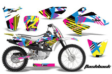 Load image into Gallery viewer, Dirt Bike Graphics Kit Decal Sticker Wrap For Honda CRF80 2004-2010 FLASHBACK-atv motorcycle utv parts accessories gear helmets jackets gloves pantsAll Terrain Depot