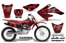 Load image into Gallery viewer, Dirt Bike Graphics Kit Decal Sticker Wrap For Honda CRF80 2004-2010 HISH RED-atv motorcycle utv parts accessories gear helmets jackets gloves pantsAll Terrain Depot