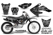 Load image into Gallery viewer, Dirt Bike Graphics Kit Decal Sticker Wrap For Honda CRF80 2004-2010 HISH SILVER-atv motorcycle utv parts accessories gear helmets jackets gloves pantsAll Terrain Depot