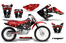 Load image into Gallery viewer, Dirt Bike Graphics Kit Decal Sticker Wrap For Honda CRF80 2004-2010 REAPER RED-atv motorcycle utv parts accessories gear helmets jackets gloves pantsAll Terrain Depot