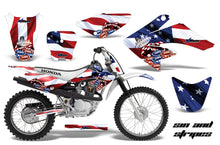 Load image into Gallery viewer, Dirt Bike Graphics Kit Decal Sticker Wrap For Honda CRF70 2004-2015 USA SINS-atv motorcycle utv parts accessories gear helmets jackets gloves pantsAll Terrain Depot