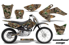Load image into Gallery viewer, Dirt Bike Graphics Kit Decal Sticker Wrap For Honda CRF70 2004-2015 WOODLAND CAMO-atv motorcycle utv parts accessories gear helmets jackets gloves pantsAll Terrain Depot