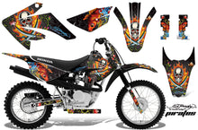 Load image into Gallery viewer, Dirt Bike Graphics Kit MX Decal Wrap For Honda CRF80 CRF100 2011-2016 EDHP BLACK-atv motorcycle utv parts accessories gear helmets jackets gloves pantsAll Terrain Depot
