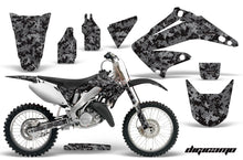 Load image into Gallery viewer, Dirt Bike Graphics Kit Decal Wrap For Honda CR125R CR250R 2002-2008 DIGICAMO BLACK-atv motorcycle utv parts accessories gear helmets jackets gloves pantsAll Terrain Depot