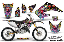 Load image into Gallery viewer, Dirt Bike Graphics Kit Decal Wrap For Honda CR125R CR250R 2002-2008 EDHLK BLACK-atv motorcycle utv parts accessories gear helmets jackets gloves pantsAll Terrain Depot