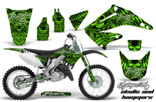 Load image into Gallery viewer, Dirt Bike Graphics Kit Decal Wrap For Honda CR125R CR250R 2002-2008 HISH GREEN-atv motorcycle utv parts accessories gear helmets jackets gloves pantsAll Terrain Depot