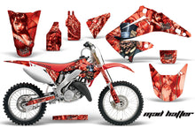 Load image into Gallery viewer, Dirt Bike Graphics Kit Decal Wrap For Honda CR125R CR250R 2002-2008 HATTER RED-atv motorcycle utv parts accessories gear helmets jackets gloves pantsAll Terrain Depot