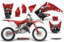Load image into Gallery viewer, Dirt Bike Graphics Kit Decal Wrap For Honda CR125R CR250R 2002-2008 REAPER RED-atv motorcycle utv parts accessories gear helmets jackets gloves pantsAll Terrain Depot