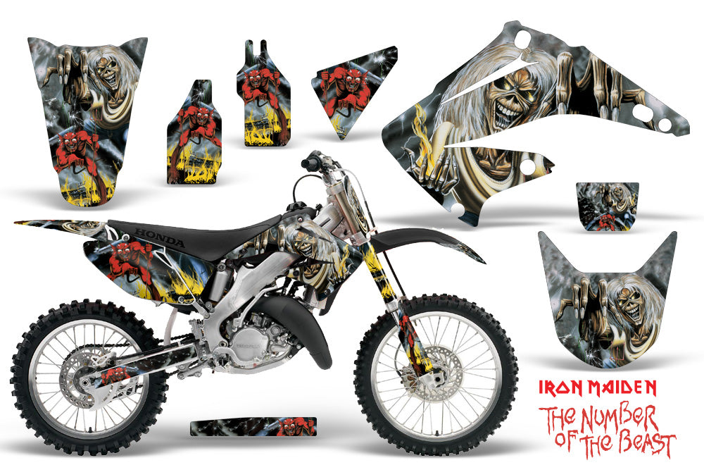 Graphics Kit Decal Wrap + # Plates For Honda CR125R CR250R 2002-2008 IM NOTB-atv motorcycle utv parts accessories gear helmets jackets gloves pantsAll Terrain Depot