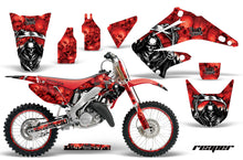 Load image into Gallery viewer, Graphics Kit Decal Wrap + # Plates For Honda CR125R CR250R 2002-2008 REAPER RED-atv motorcycle utv parts accessories gear helmets jackets gloves pantsAll Terrain Depot