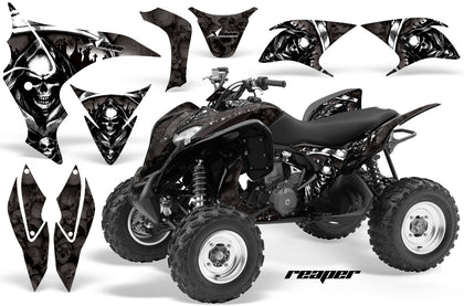 ATV Graphics Kit Quad Decal Sticker Wrap For Honda TRX700XX 2009-2015 REAPER BLACK