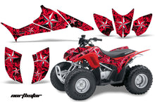 Load image into Gallery viewer, ATV Graphics Kit Quad Decal Sticker Wrap For Honda TRX90 2006-2018 NORTHSTAR RED CHROME-atv motorcycle utv parts accessories gear helmets jackets gloves pantsAll Terrain Depot