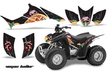 Load image into Gallery viewer, ATV Graphics Kit Quad Decal Sticker Wrap For Honda TRX90 2006-2018 VEGAS BLACK-atv motorcycle utv parts accessories gear helmets jackets gloves pantsAll Terrain Depot