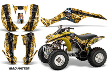 Load image into Gallery viewer, ATV Graphics Kit Quad Decal Wrap For Honda Sportrax TRX250 2002-2005 HATTER YELLOW BLACK-atv motorcycle utv parts accessories gear helmets jackets gloves pantsAll Terrain Depot