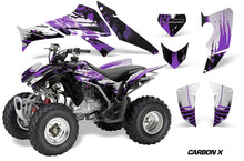 Load image into Gallery viewer, ATV Decal Graphics Kit Quad Sticker Wrap For Honda TRX250X 2006-2018 CARBONX PURPLE-atv motorcycle utv parts accessories gear helmets jackets gloves pantsAll Terrain Depot