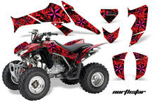 Load image into Gallery viewer, ATV Decal Graphics Kit Quad Sticker Wrap For Honda TRX250X 2006-2018 NORTHSTAR PINK BLACK-atv motorcycle utv parts accessories gear helmets jackets gloves pantsAll Terrain Depot