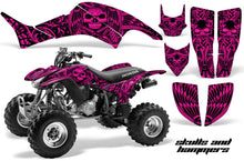 Load image into Gallery viewer, ATV Graphics Kit Decal Quad Sticker Wrap For Honda TRX400EX 1999-2007 HISH PINK-atv motorcycle utv parts accessories gear helmets jackets gloves pantsAll Terrain Depot