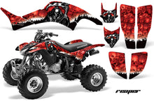 Load image into Gallery viewer, ATV Graphics Kit Decal Quad Sticker Wrap For Honda TRX400EX 1999-2007 REAPER RED-atv motorcycle utv parts accessories gear helmets jackets gloves pantsAll Terrain Depot